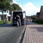 Spezial Transport Schwertransporte Solarstrom Freistehend Schaltschrank transport Schnelsen