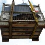 Transportieren Blockheitzkarftwerk Bhkw Spezial transport Farmsen Berne