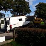Transportieren Blockheitzkarftwerk Einfamilienhaus Schaltschrank transport Ottensen