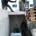 ZHKW Gebraucht Klein Schaltschrank transport Allermöhe