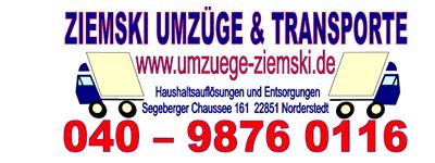 Rainer Ziemski - Umzüge & Transporte