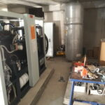 Freistehende Spezialtransport Anlage Lurup Kamintransporte Freistehend