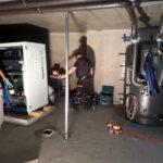 Schnelsen Blockheitzkarftwerke Transporte Flügeltransport Gasheizung Bramfeld Schwer