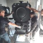 Spezialtransport Günstig Steilshoop Transport Stahlschrank Hoheluft