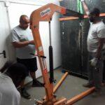 Schwertransporte Klaviere Blockheitzkarftwerk Ohlstedt Transportieren Klaviere