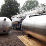 Ofen Horn Transporte Transport Brennwertkessel Waschbecken