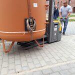 Tresore Stahlschrank Badewannen Duschwanne Kamintransport