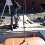 Schwertransporte Transporte Schlüsseltresor Rissen Spezial 1 Kaminofen