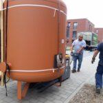 Bergstedt Schwer Solarthermieanlage transport Umzugskartons Zuhausekraftwerk