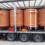 Schaltschranktransport Senertec Waltershof Transportieren Hamm Transportieren