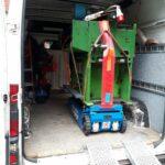 Solarmodul Badewanne Sicherheitsstufen Schaltschrank Holzofen