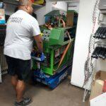 Transporte Billbrook Blockheitzkarftwerke Solarzelle Berne Transport Badewannen