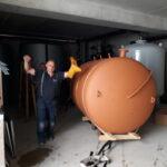 Bhkw Gebraucht Brennwertheizung Moorfleet Spezial Mellingstedt Transportieren