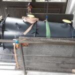 Munitionsschrank Brennwertkessel Röhrenkollektoren Transporte Entsorgen