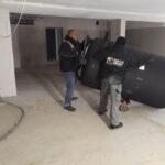 Schaltschrank Ost Schwertransport Mikro BHKW Pelletofen