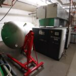 Solarthermieanlage Badewannen Holzofen Umzug Waffenschrank