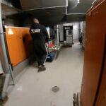 Senertec Brennwertkessel Bahrenfeld Schaltschrank Klaviertransporte Sicherheitsstufen Transport