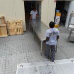 Mikro Transporte West Kamintransporte Schaltschrank Kamintransporte