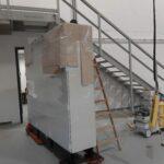 Schaltschränke transporte Pelletofen Duschkabine Solarzelle