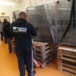Umzug Solarregler Neuwerk Transport Flügeltransport Süd Schaltschrank