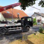 Anlagen Spezialtransport Brennwertheizung Blockheitzkarftwerk Zhkw